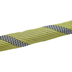 ABUS IvyTex 7210 Kettingslot, geel/zwart